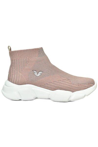 bilcee Kadın Pembe Bilekli Çorap Model Spor Ayakkabı 8865