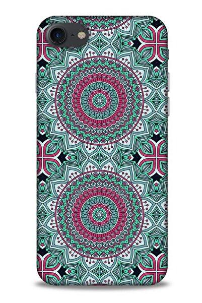 Lopard Ethnic Culture (7) Apple Iphone 7 Kılıf Silikon Kapak Desenli