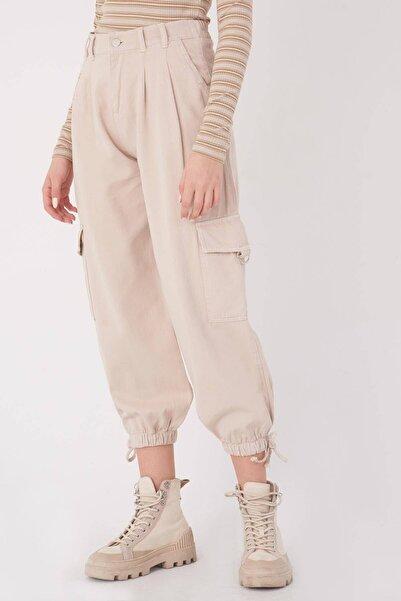 Addax Kadın Taş Kargo Pantolon PN4373 - PNT ADX-0000023601