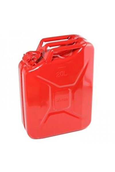 Pars 20 Litre Kırmızı Metal Benzin Bidonu