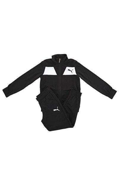 Puma 583252-01 Poly Suit Cl B Çocuk Eşofman Takımı Siyah