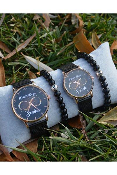 WatchArt Sevgili Saatleri Sonsuzluk Saatleri Bay Bayan Çift Kol Saatleri Çift Bileklik Sevgiliye Hediye