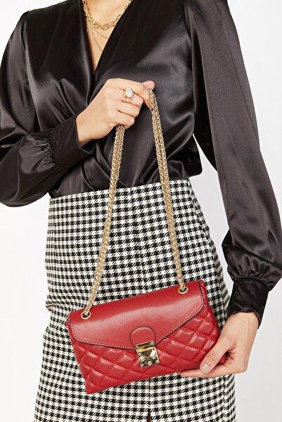 Loyka Kadın Kırmızı Çanta