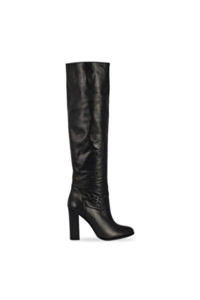 Vario Kadın Siyah Uzun Çizme