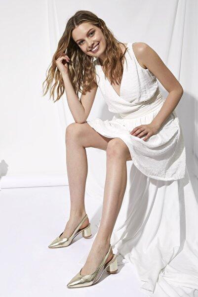 Oioi Kadın Sarı Topuklu Ayakkabı 1003-119-0002_1012