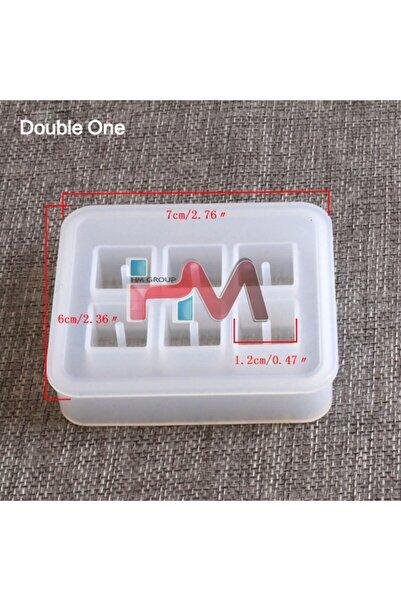 Pasif Silikon Kare Boncuk Kalıbı 12mm Ve 16mm (kendinden Delikli) Epoksi Reçine Kalıbı Hms0012