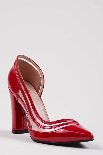 Oioi Kadın Kırmızı Topuklu Ayakkabı 1010-119-0001_1007