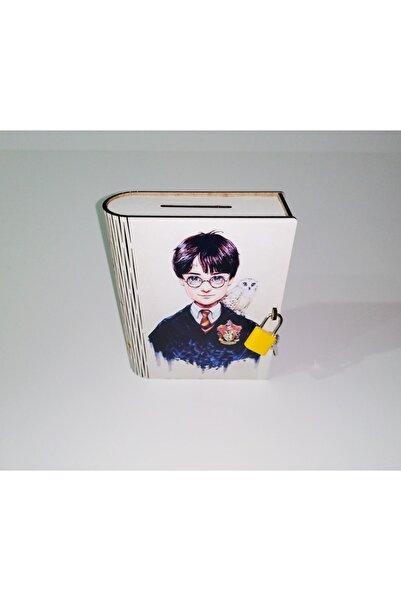 Onigi Tasarım Harry Potter Karakterli Ahşap Kilitli Kumbara