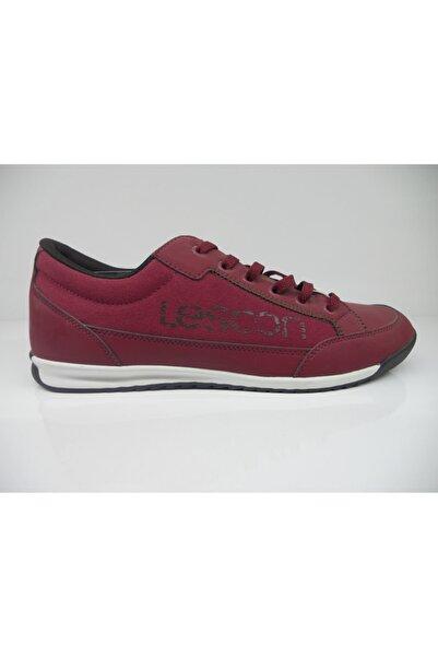 Lescon Erkek Bordo Renk Ayakkabı