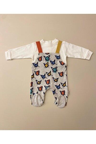 Flexi Unisex Bebek Beyaz Slopet Takımı
