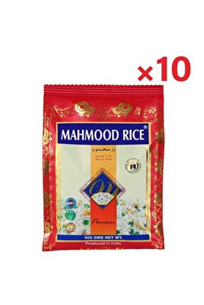 Mahmood Rice Basmati Pirinç 900 Gr X 10 Adet