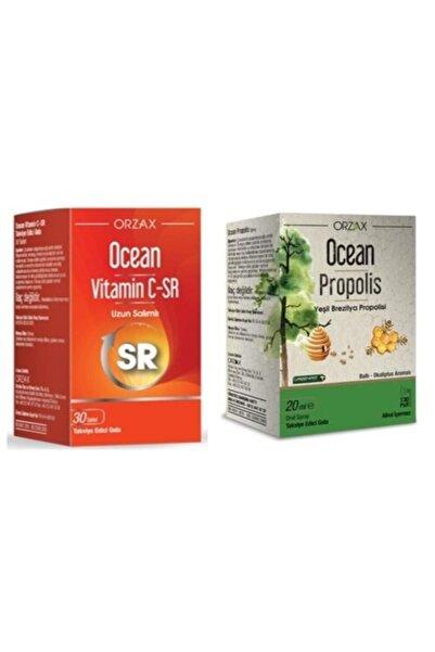 Ocean Kış Paketi Vitamin C-sr+ Propolis