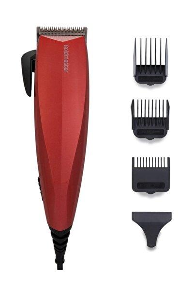 GOLDMASTER Kırmızı Ruby Saç ve Sakal Şekillendirme Makinesi Gm-8103