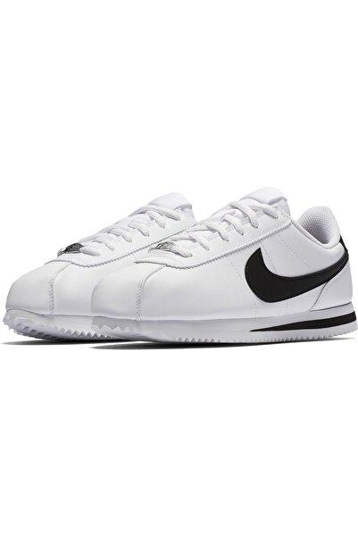 Nike Kadın Beyaz Cortez Basic Sl gs Spor Ayakkabi 904764-102