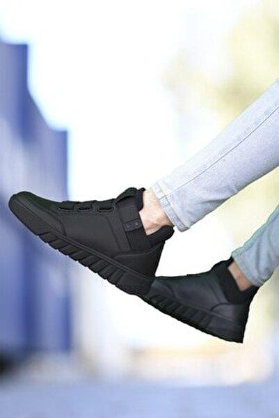 Siyah Siyah Unisex Sneaker Bot 0012383