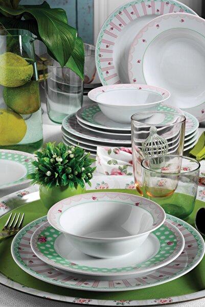 Kütahya Porselen 24 Parça Desen Yemek Seti