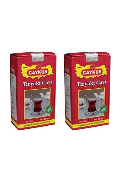 Çaykur Tiryaki Dökme Çay 2'li Paket 1kg