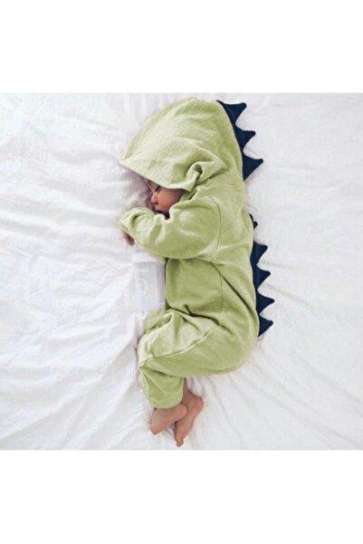 bebegen Dinazor Desenli Bebe Uyku Tulumu
