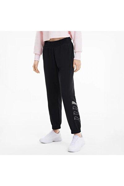Puma Kadın Siyah Eşofman Altı Rebel Pants TR Cl  58131201