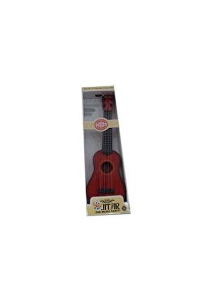 Oyuncak Telli Gitar Oyuncak Müzik Aleti Gercekçi Çoçuk Gitar Eğitici Öğretici Ahşap Oyuncak Gitar