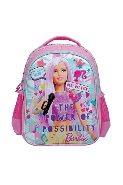 Frocx Pembe Lisanslı Barbie Popstar Ilkokul Çantası 5037