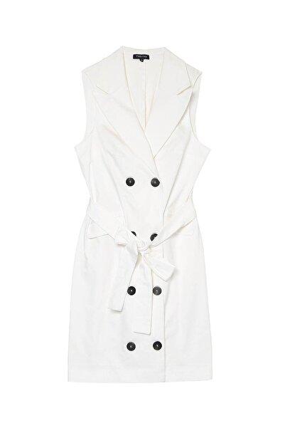 Fabrika Kadın Beyaz Elbise 504498012