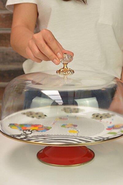 Miss Betty Vintage Kapaklı Kek Fanusu 30cm Benetton