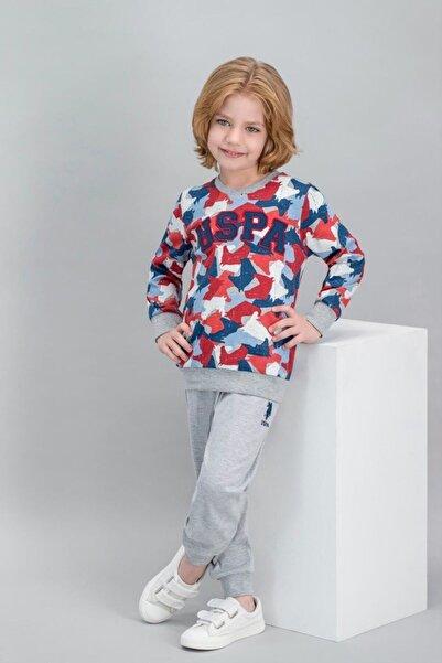 U.S. Polo Assn. Erkek Çocuk Grimelanj Pijama Takımı