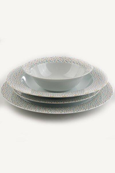 Kütahya Porselen Porselen Nano 24 Parça Yemek Seti