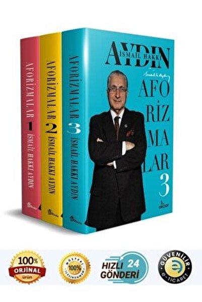 Prof.dr.ismail Hakkı Aydın - Aforizmalar 1 , Aforizmalar 2 , Aforizmalar 3 ( 3 Kitap Set )