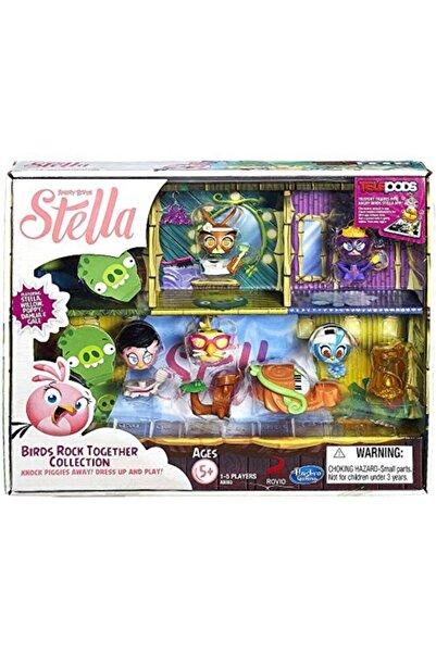 Angry Birds Telepods Stella 5'li Oyuncak Oyuncakları Oyun Seti