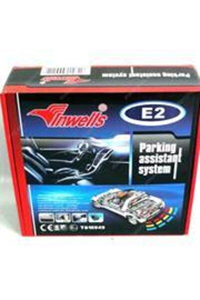 Inwells E-2 Park Sensörü Led Ekranlı Beyaz