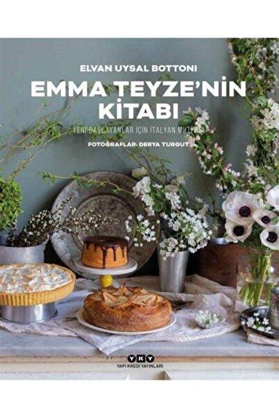 Yapı Kredi Yayınları Emma Teyze'nin Kitabı Yeni Başlayanlar İçin İtalyan Mutfağı