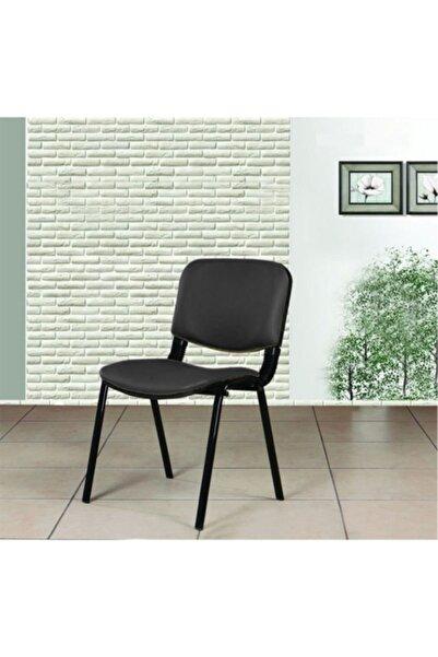 MONTESEV Ofis Sandalye Koltuk Büro Sandalye Bilgisayar Çalışma Koltuğu Form Sandalye Bekleme ( Suni Deri )