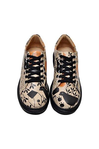 Dogo Kadın Bej Çok Renkli Ayakkabı