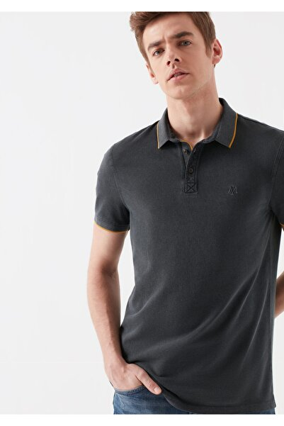 Mavi Erkek Gri Polo Tişört