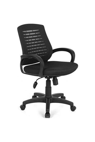 Fabrika Çalışma Sandalyesi Siyah Ofis