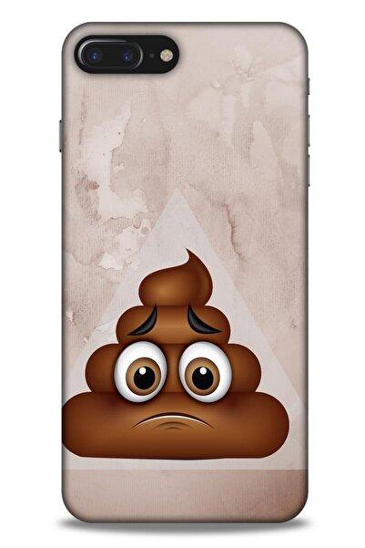 Lopard Emojix (62) Apple Iphone 7 Plus Kılıf Silikon Kapak Desenli