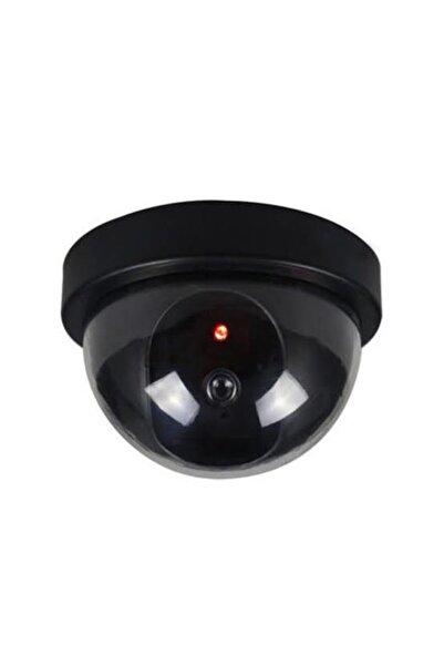 Keyfi Sepet Sahte Güvenlik Kamerası Caydırıcı Led Işıklı Sahte Dome Kamera