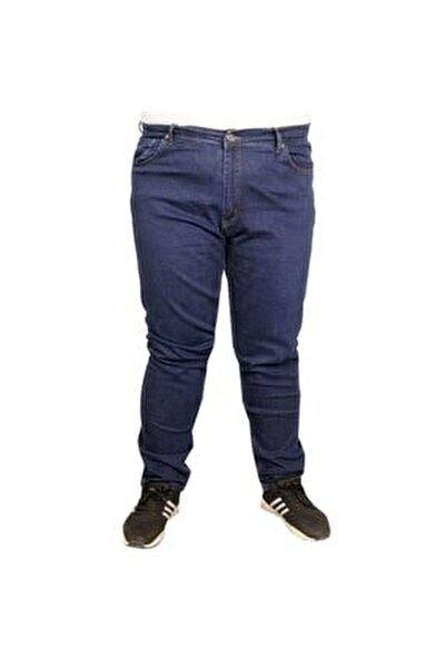 Büyük Beden Erkek Pantolon Kot 20900 Lacivert