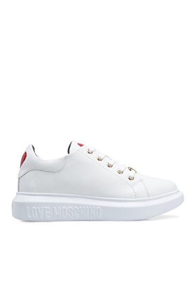 Love Moschino Kadın  Beyaz Ayakkabı Ja15494g0bja0100