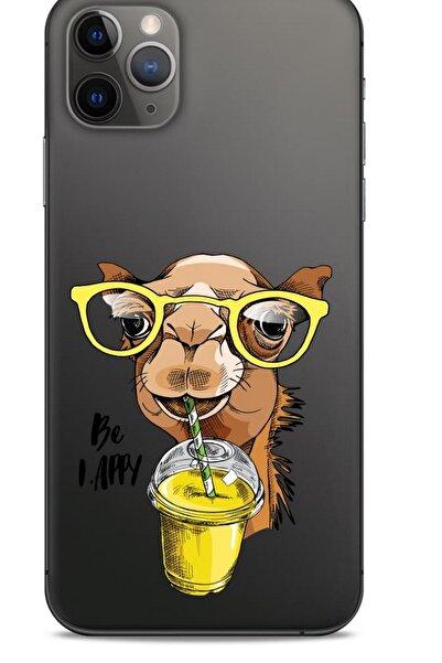 Lopard Zoologix (1) Apple Iphone 12 Pro Max Şeffaf Kılıf Silikon Desenli