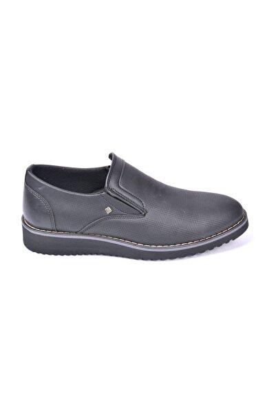 CONTEYNER 316.01 Eva Taban Günlük Siyah Erkek Ayakkabı