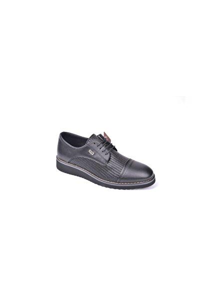 CONTEYNER 304.01 Eva Taban Siyah Günlük Erkek Ayakkabı