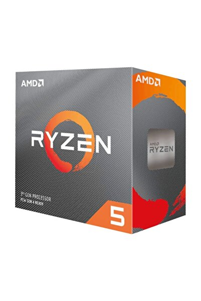 Ryzen 5 3600X 3.8GHz AM4 Soket 35MB Önbellek 95W 7nm İşlemci 100-100000022BOX