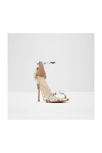 Aldo Carra - Yılan Deseni Kadın Yüksek Topuklu Sandalet