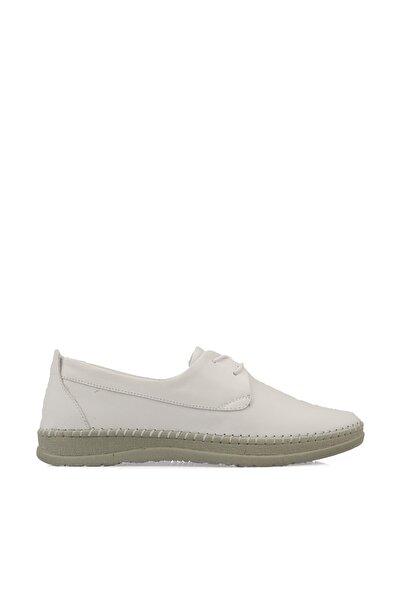 Ziya Kadın Hakiki Deri Ayakkabı 101359 261 Beyaz