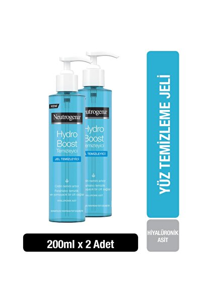 Neutrogena Hydro Boost Water gel Temizleyici 200 ml x 2