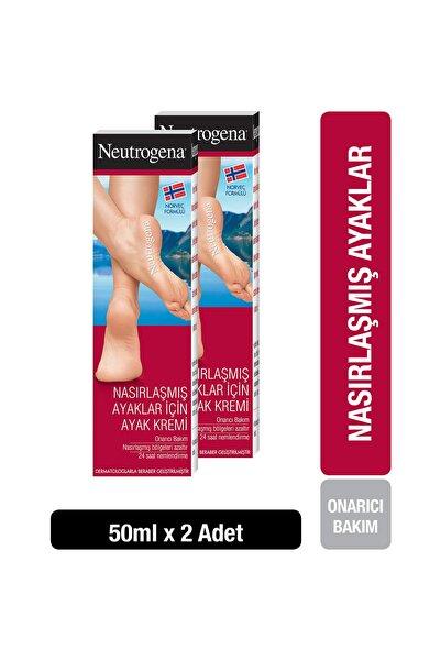 Neutrogena Norveç Formülü Nasırlaşmış Ayaklar İçin Ayak Kremi 50 ml  x 2