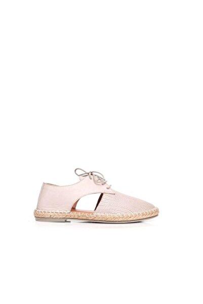 BUENO Shoes Önden Bağcıklı Hakiki Deri Kadın Ayakkabı 9l0451
